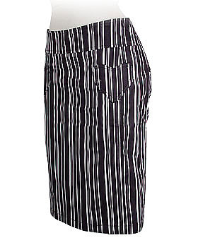 Striped Two Timer Pencil Skirt by EC Star ($39)