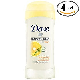 Dove Go Fresh, Anti-perspirant & Deodorant Energizing Grapfruit & Lemongrass
