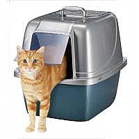 Enclosed Cat Litter Box: Van Ness Enclosed Cat Litter Pans at PETCO
