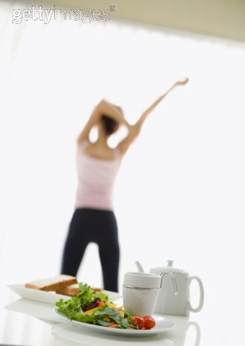 Do you eat before or after a morning workout?