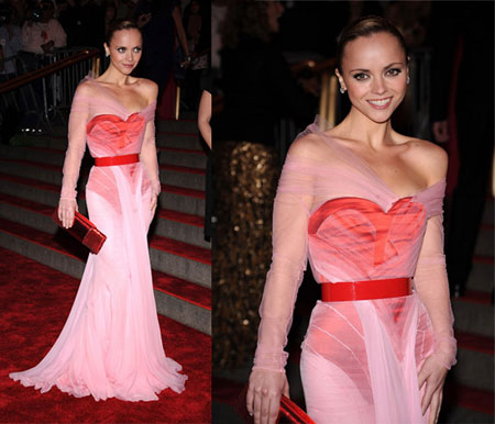 Christina Ricci wearing Givenchy - Flashy or Trashy?