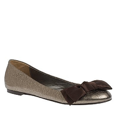 Women flats & moccasins Lulu metallic-leather ballet flats