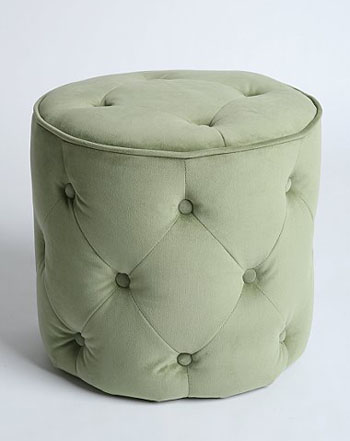 Nice and New: Urban Outfitters Lana Velvet Pouf