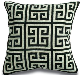 Steal of the Day:  Jonathan Adler Greek Key Pillow