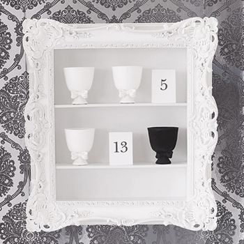 Steal of the Day: Ruffle Frame Shelf