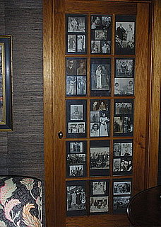 Cool Idea: Door Panes Become Picture Frames