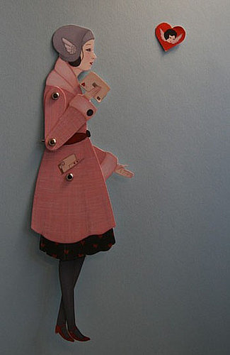 The Card Shop: Paper Doll Valentine