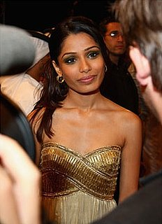 Inspired: Frieda Pinto's Glam Gold