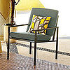 Steal of the Day: Square Metal Armchair