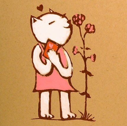 Someone special will cherish this Kitty Valentine ($5).
