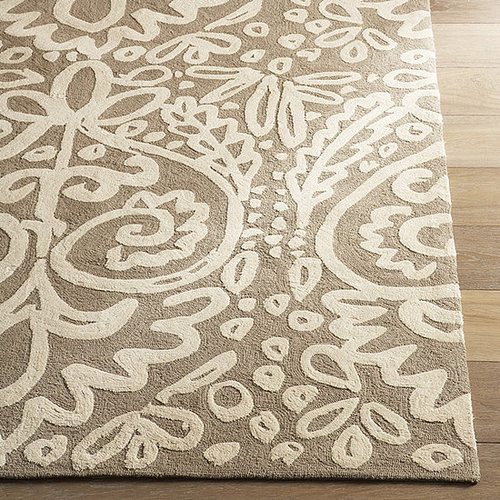 Nice and New: Indian Flower Rug