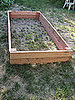 DIY Garden Box Tutorial and Pictures