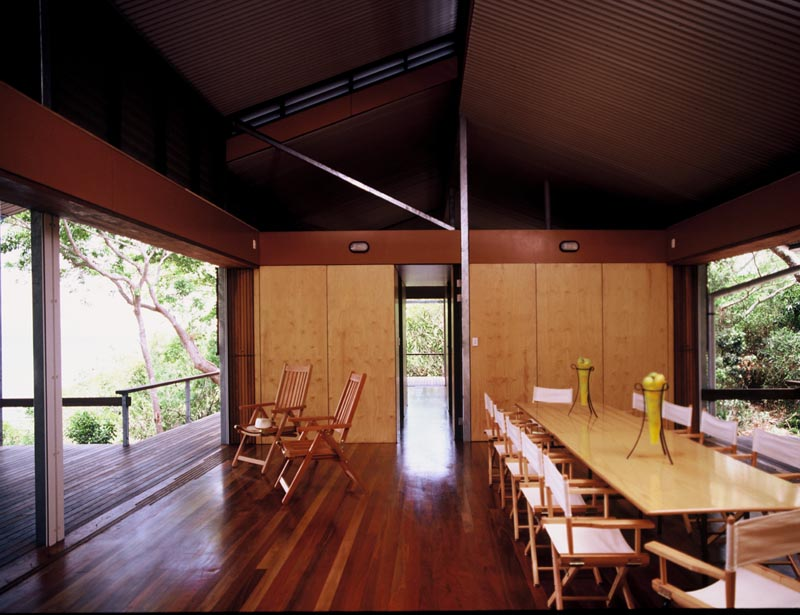 Sustainable materials were used throughout the home.