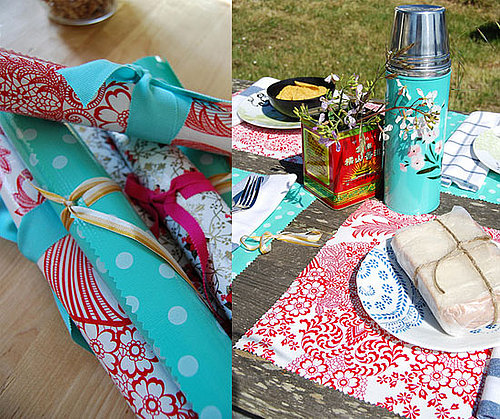 DIY: Oilcoth Placemats