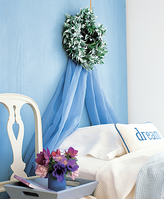 DIY: Canopy Headboard