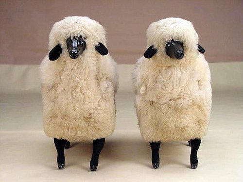 Ask Casa: Claude Lalanne Sheep Sculptures