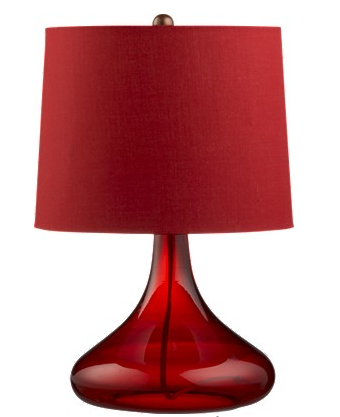Nice and New: Crate & Barrel Bing Table Lamp