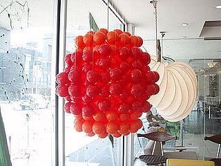 Love It or Hate It? Verner Panton Red & Orange Ball Light