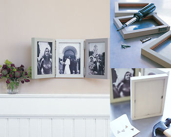 DIY: Photo Triptych