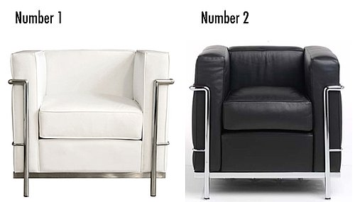 Less or More: Modern Leather Chairs