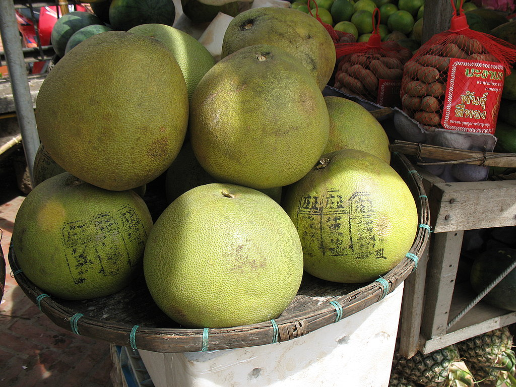 Pomelos at the Market