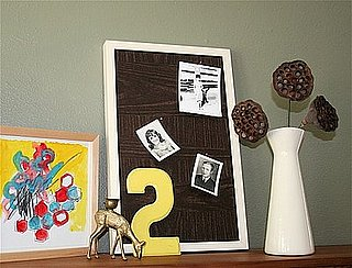 DIY:  Faux Bois Photo Board