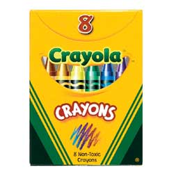 A Crayola Standard Crayon Set ($0.79) for anyone with a doodling habit.