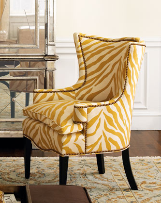 Crave Worthy: Sunflower Zebra Chair