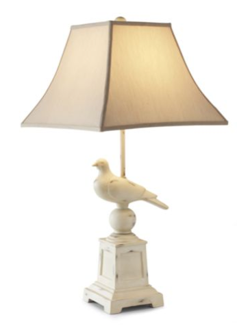Steal of the Day: Linden Street Rustic Bird Table Lamp
