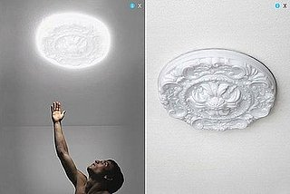 Cool Idea: Ceiling Medallion Light