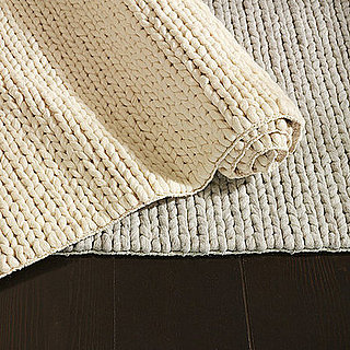 Nice and New: West Elm Chunky Plaited Wool Rug