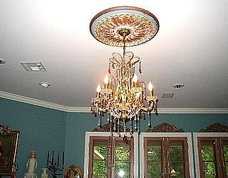 How-To:  Add a Medallion to Your Chandelier