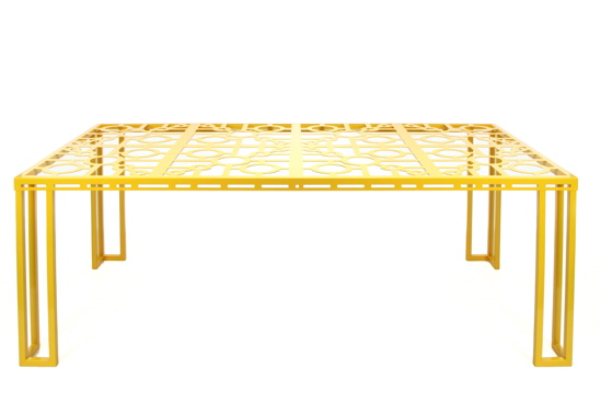 Mellow Yellow Deco Table