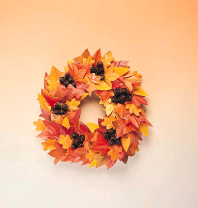Do You Have an Autumn Wreath?