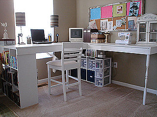 Before and After: Creating a Craft Desk