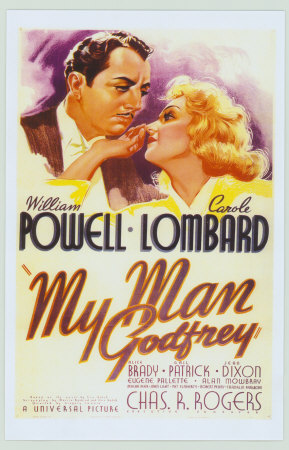 You can get the same poster My Man Godfrey print from art.com.