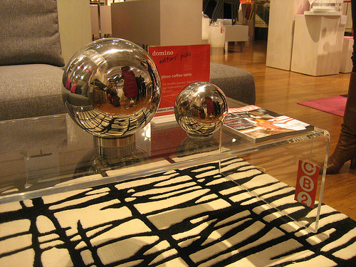 One of Hall's picks was this Peekaboo Clear Coffee Table ($249). Considering how much I love acrylic, I whole-heartedly agree with her.