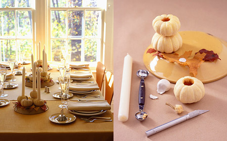 How-To: Make Pumpkin Candle Holders