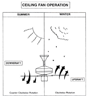 Discover a simple way to save energy and money with your ceiling fan. Source