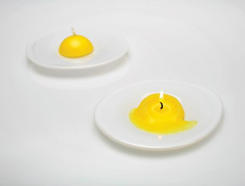 Love It or Hate It? Fried Egg Candle