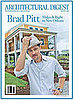 Brad Pitt in Architectural Digest