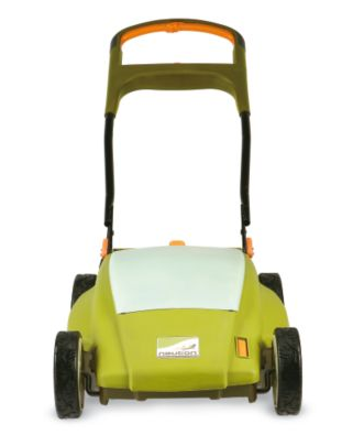 The Neutron Battery-Powered Mower is a great eco compromise between gas mowers and manual push mowers. Source