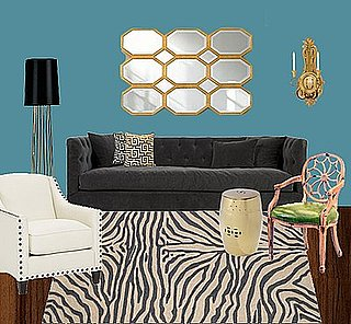 One Zebra Rug, Two Ways