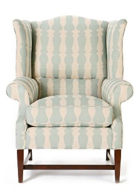 Anthropologie Spindle Wingback Chair