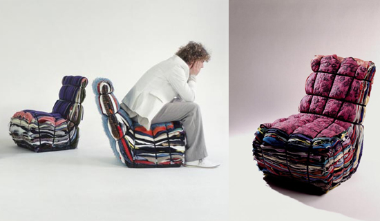 The Droog Rag Chair is a little mad, but I love it anyway. Source