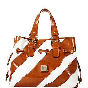 Chiara Dooney Bourke Zebra Bag