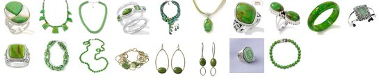 Top Ten + Favorite Green Turquoise Pieces