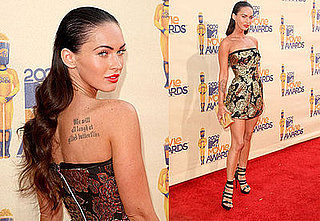 Megan Fox at the MTV Movie Awards