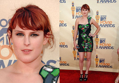 Rumer Willis at the MTV Movie Awards