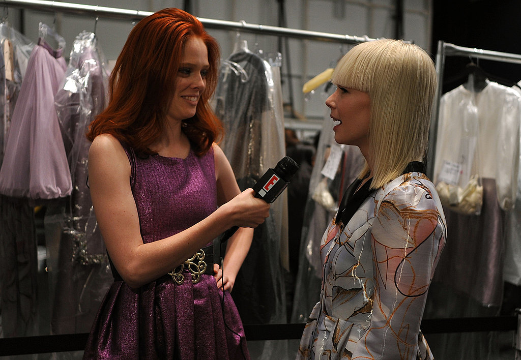 New York Fashion Week, Fall 2009: Backstage Access